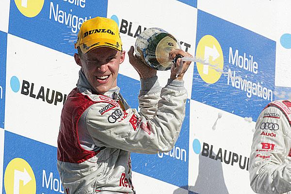 Mattias Ekström sAudi A4 šampionem DTM 2007