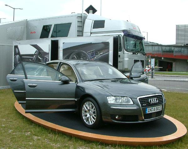 Keramické brzdy pro Audi A8