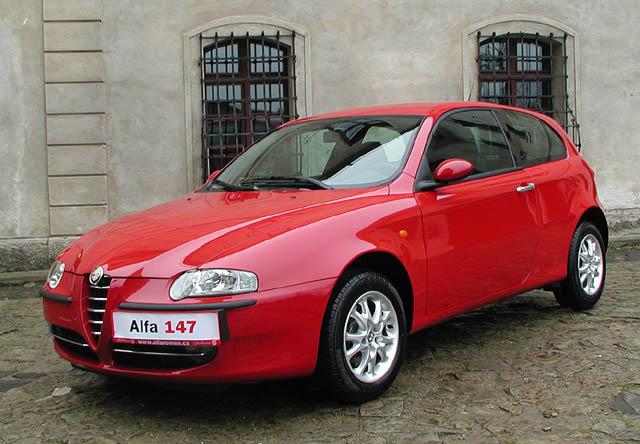 Alfa Romeo147 vlednu 2001 do prodeje vČR