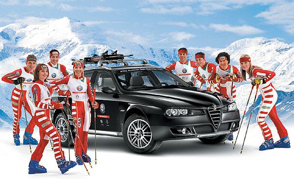 Závodní lyžarský tým Alfa Romeo