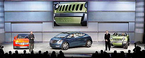 Koncepční vozy Chrysler LLC na autosalonu vDetroitu (13.až 25.ledna 2008)