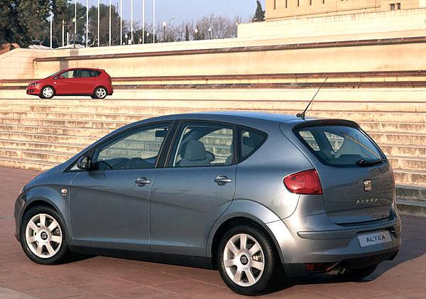 SEAT Altea sklízí uznání za svůj design