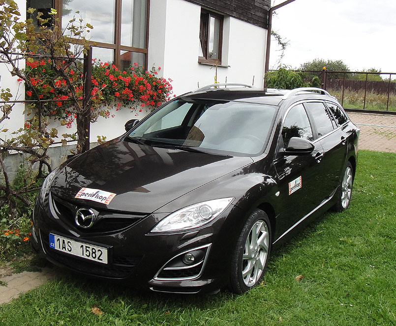 Mazda 6 Wagon po faceliftu vminulém roku v redakčním testu