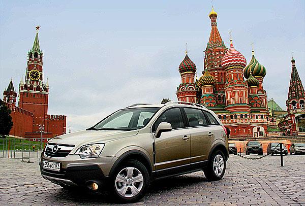 Opel Antara se vyrábí i vRusku