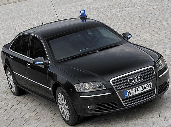Luxusní limuzíny Audi A6 a Audi A8 vprovedení Security