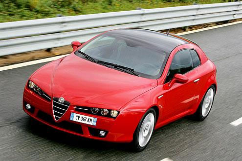 "Alfa Brera byla zvolena ""Evropským vozem roku 2007"" v Japonsku"