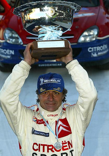 Citroen na Rally Argentina (16.-18.7.2004)