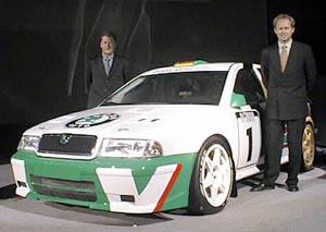 Posádka pro Škoda Octavia World Rally Car stanovena