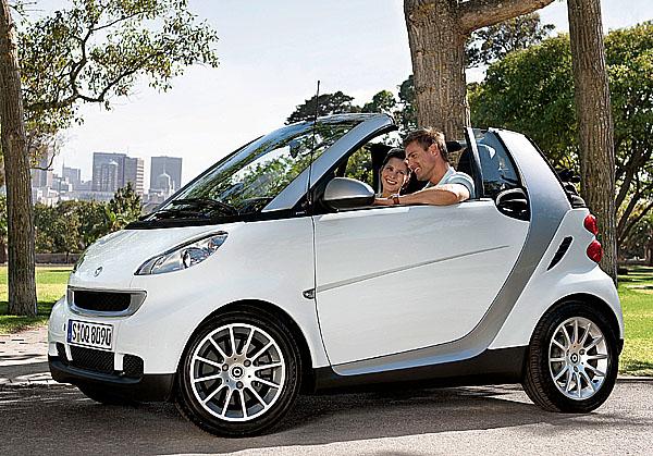 smart fortwo cdi - rekordní hodnota 86 gramů CO2 na kilometr se spotřebou 3,3 l/100 km