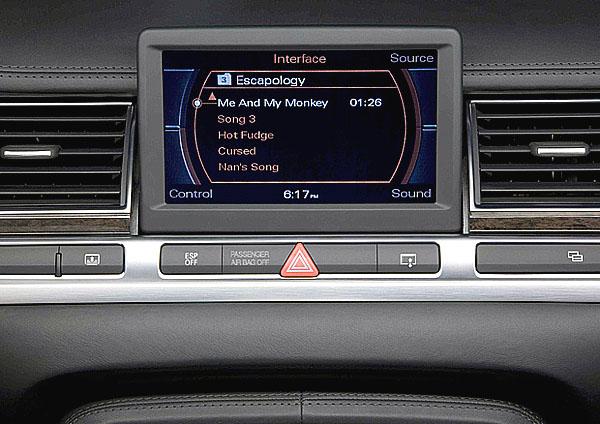 Apple iPod ve všech modelech Audi
