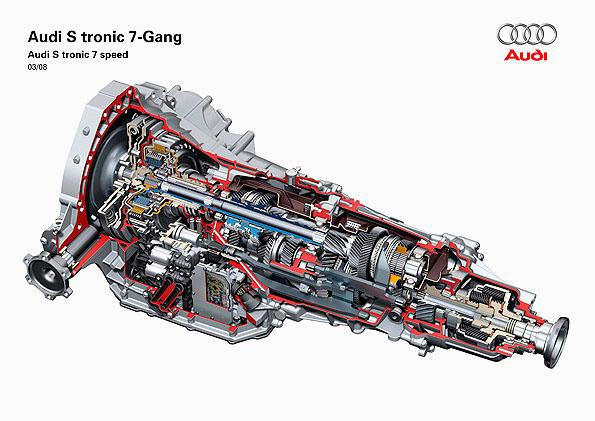 Nová sedmistupňová převodovka Audi S tronic