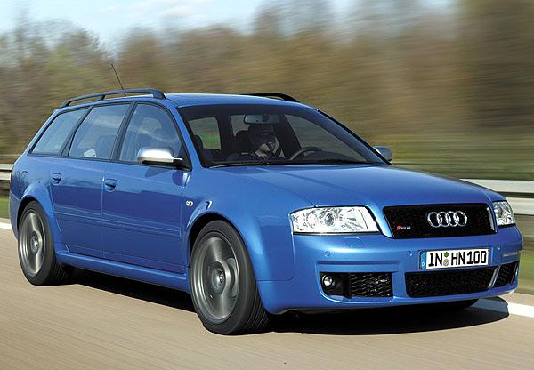 Ještě výkonnější Audi RS 6 plus: 0 - 100 km/h za 4,6 sekundy