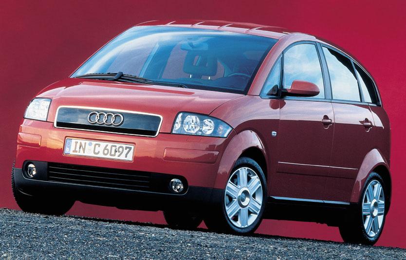 Audi A2 - první velkosériově vyráběný hliníkový vůz