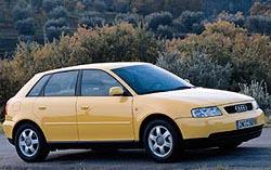 Audi A3 spěti dveřmi na jaře vprodeji