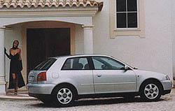 Audi A3 + Trussardi - zásah do srdce žen