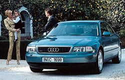 Audi A8 dostalo v USA pochvalu za bezpečnost