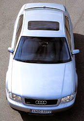 Audi A8: 4 roky existence - mnohé změny v konstrukci