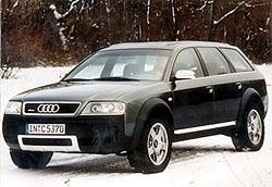 Audi allroad quattro jde do sériové výroby