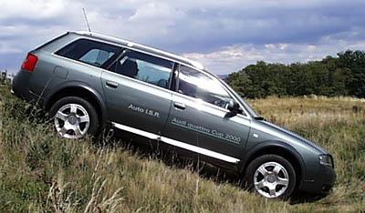 Audi allroad quattro na našem trhu