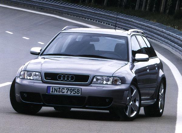 Audi RS 4: sportovní kombi
