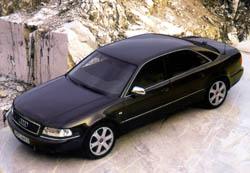 Sportovně laděný model Audi S8 – u nás v prodeji