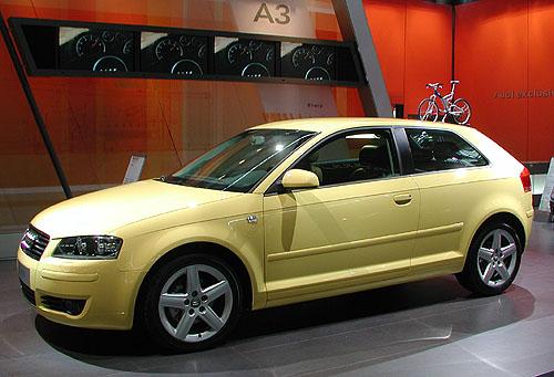 Novinky Audi na autosalonu v Brně 2003