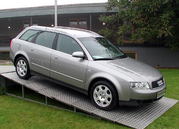 Audi - v roce 2001 rekordní prodej v ČR i v západní Evropě