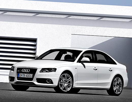 """První titul ještě před uvedením na trh """"Zlatý volant"""" pro nové Audi A4"""