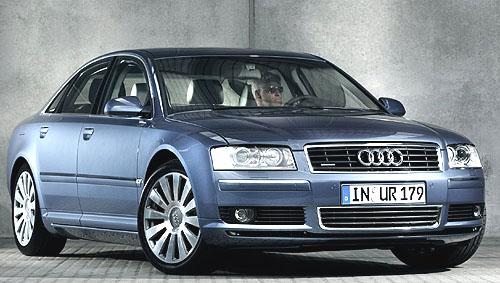 Audi A8 3.0 l multitronic spředním pohonem