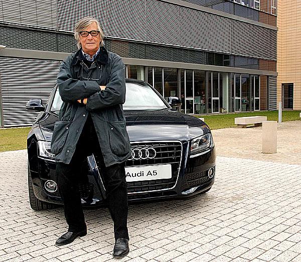 Jiří Bartoška si vybral sportovní kupé Audi A5