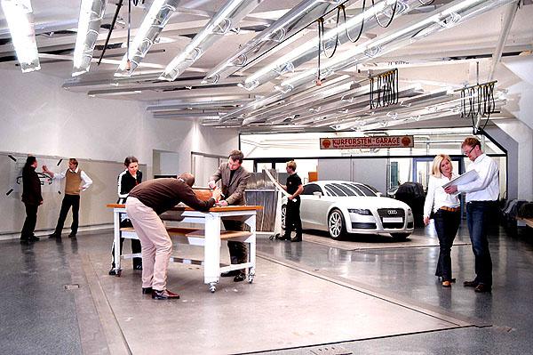 Skupina Audi má nové designerské studio