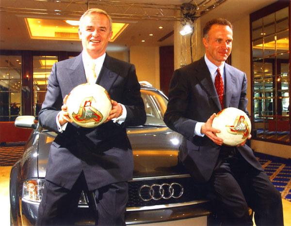 Automobilka Audi se stala novým partnerem německého fotbalového klubu Bayern Mnichov