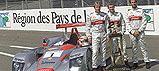 V cíli Le Mans obsadili piloti Audi již po třetí rok první tři místa