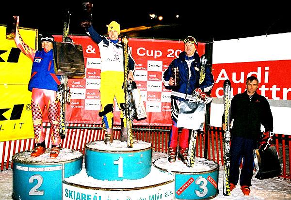 Audi & Völkl Cup 2004 jako obvykle ve Svatém Petru! Prize-money pro amatérské lyžaře 100 000 Kč!