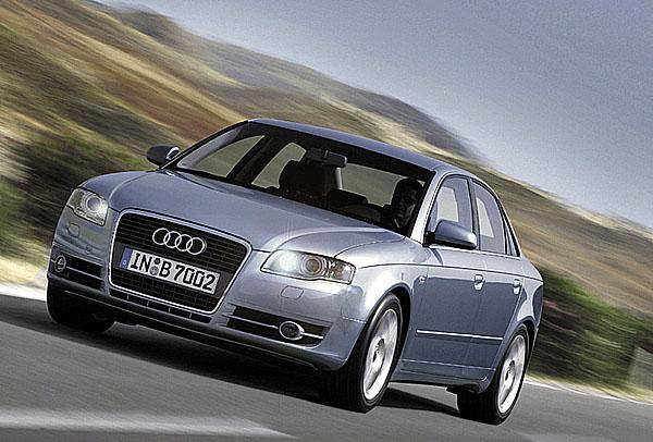 Naftová ofenzíva modelové řady Audi A4