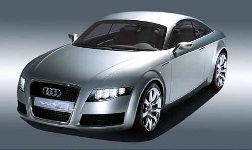 Na autosalonu vŽenevě vzbudil senzaci prototyp výkonného 2+2 místného kupé Audi Nuvolari quattro