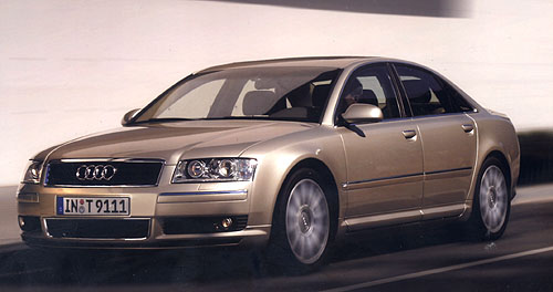 Nová technologie nového Audi A8: prostorový hliníkový rám