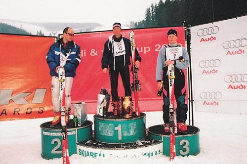 Automobilka Audi je partnerem špičkových lyžařských akcí, týmů i závodníků