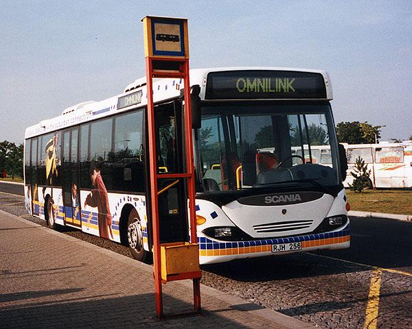 Autobusy Scania na etanol