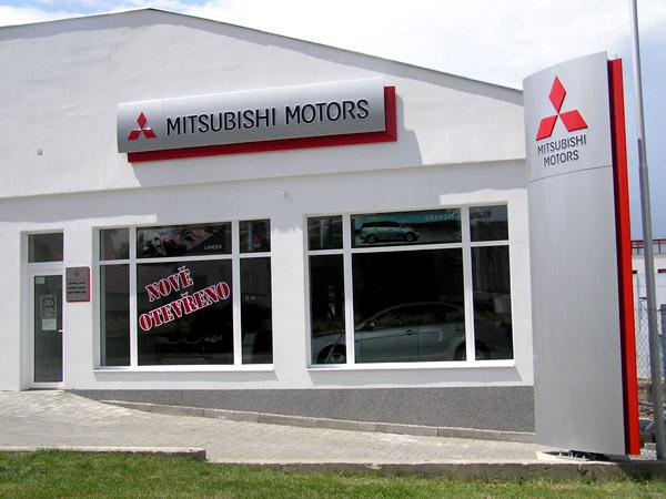Mitsubishi Motors rozšiřuje svou síť autorizovaných prodejců a servisů vLounech, na Kladně a vČeské Lípě