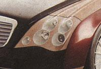 Automatický světlomet z dílny Mercedesu