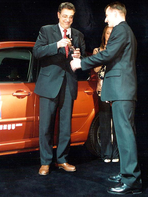 Peugeot 307 získal evropskou cenu Auto 1 vydavatelství Axel Springer