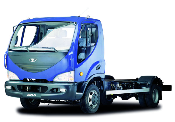 Nová DAEWOO AVIA – nákladní vůz řady D