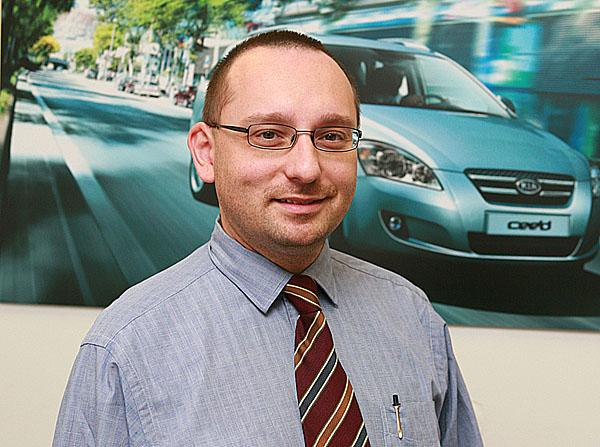 Společnost Kia Motors Czech obsadila nově zřízenou pozici obchodního a marketingového ředitele