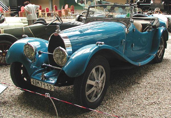 Národní technické muzeum vPraze vás zve na výstavu Automobily Bugatti včeských zemích