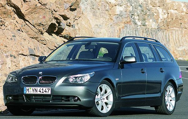 Třetí generace BMW 5 Touring na našem trhu