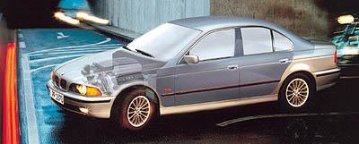 BMW 540i Protection: Pro osobní ochranu