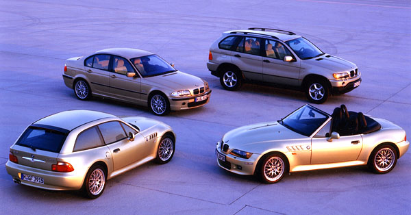 BMW snovým šestiválcem