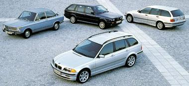 BMW Touring - zapomenutá historie