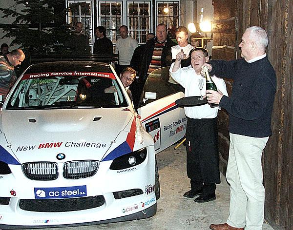 Kalendář NEW BMW Challenge na rok 2008